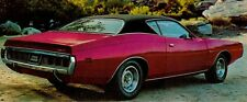 71 72  Dodge Charger Super Bee Full BLACK Vinyl Top/Mopar