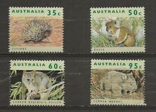 Australia, 1992 endangered animals MH and used