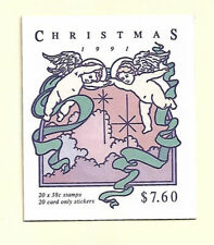 "Australia - 1991 38c ""Shepherd"" BOOKLET PANE of 20. Scott #1231a. FINE USED"