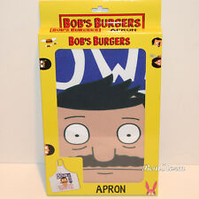 Bob's Burger Belcher Adult Kitchen Apron Gentleman Down South Bad Boy Mouth Nwt