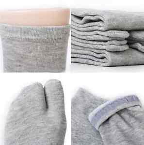 Mens Womens Japanese Kimono Flip Flop Sandal Split Toe Tabi Ninja Socks un