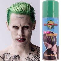 Green Hair Colour Spray Joker Suicide Squad