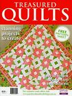 TREASURED QUILTS MAGAZINE 2015 PATTERN SHEET ATTACHED