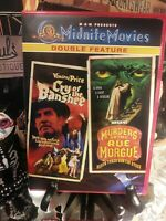 Cry of the Banshee & Murders in the Rue Morgue (MGM Midnite Movies DVD) RARE OOP