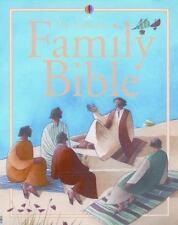 The Usborne Family Bible Children's Illustrated HCDJ
