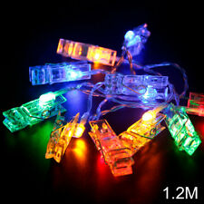 50 LED String Christmas Tree Home Decor Fairy Light Lamp Battery Wedding Party