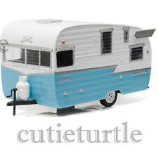 Greenlight Shasta 15' Airflyte Trailer Diecast Model 1/24 18229 Blue