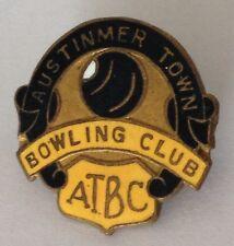 Austinmer Town Bowling Club Badge Rare Vintage (K5)