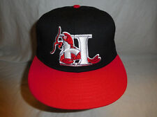 Vintage Hickory Crawdads Baseball Cap Hat Fitted 7 3/8 Pro Line USA White Sox