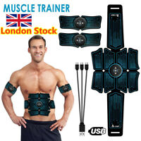 UK Abdominal Toning Trainer Muscle Toner  Muscle Stimulator Toner Fitness Belt