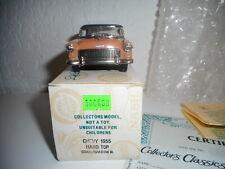 CHEVROLET 1955 marque  COLLECTOR 'S CLASSICS vintage ETAT NEUF