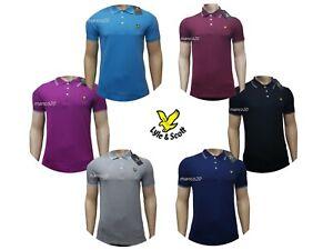 LYLE & SCOTT Short Sleeve  Classic Polo shirt for Men's