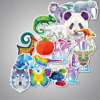 35Pcs Luggage Decoration Lovely Mixed Animal Sticker Graffiti Decal DIY Sticker