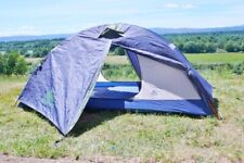Kelty Pitkin Tent Rare 2 Door 2 Person Full Clip System  5' X 8' Two Vestibules