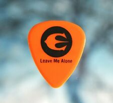 Europe / John Norum Tour Guitar Pick / Orange/Black Leave Me Alone dokken