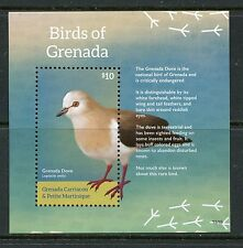 GRENADA GRENADINES  2015 BIRDS OF GRENADA SOUVENIR SHEET MINT NEVER HINGED