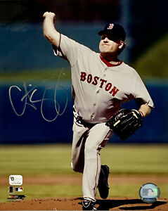Curt Schilling Boston Red Sox Signed 8x10 Photo Autographed Auto COA