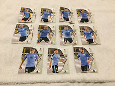 11 x URUGUAY CARDS WORLD CUP INTERNATIONAL MIXED COLLECTION BUNDLE BULK EXC