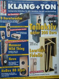 Klang & Ton 3/2004. Inhaltsverzeichniss siehe Foto