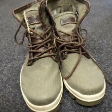 Timberland Boots Size UK 7 Brand New Stunning Army Oxford cotton design.