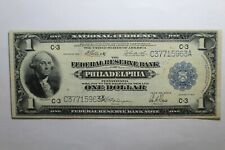 1914 Federal Reserve National Currency Philadelphia Note