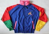 Nike Air Jordan 90's Vtg style Windbreaker/ track Jacket Men's size Small New