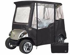 Greenline 2 Passenger Drivable Yamaha Drive Golf Cart Enclosure - Black