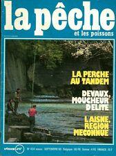 Revue  La pêche et les poissons No 424 Septembre 80