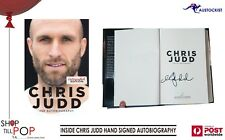 Inside: The Autobiography by Chris Judd Hand Signed AUTOGRAPHED 1st Edition