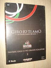 DVD N°2 GIRO IO TI AMO PANTANI GAUL E I PIU' GRANDI SCALATORI GIRO D'ITALIA