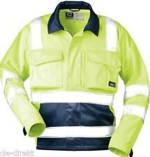 Warnschutzjacke gelbe Arbeitsjacke Herren Warnschutzkleidung Gr. 58 %%%