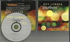 JEFF LORBER Gigabyte w/ RARE EDIT 2003 USA PROMO Radio DJ CD single MINT