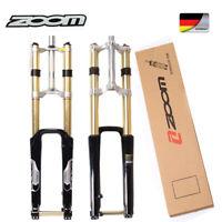 """ZOOM 26"""" Gabel MTB Fahrrad Federgabel Gabeln 180mm DH680 Durch Achse Gerad Disc"""
