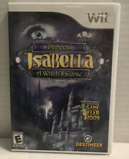 Nintendo Wii Princess Isabella: A Witch's Curse   *See Details Below*