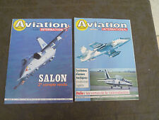 LOT DE 14 MAGAZINES  AVIATION INTERNATIONALE