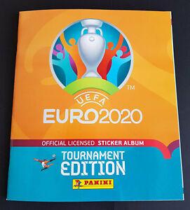 Panini UEFA EURO 2020 Tournament Edition Orange Album Mexico (Very Fine)
