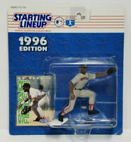 MO VAUGHN - Boston Red Sox Kenner Starting Lineup SLU 1996 Action Figure & Card