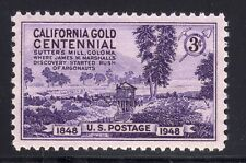 US STAMP #954 3c CALIFORNIA GOLD - XF-SUPERB - MINT - GRADED 95