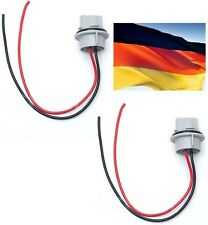 Flosser Pigtail Wire 2444 Female Socket 7440 Two Harness Front Turn Signal Light