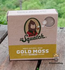 Dr. Squatch Gold Moss Soap for Men 5oz - Free Shipping