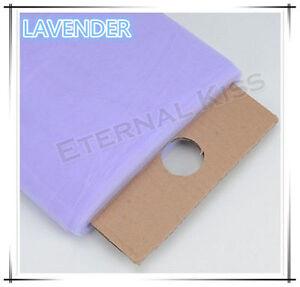 """NEW Soft Wedding Tulle Bolt 54""""inch x 40yd(1.4m x 36m) - Lavender"""