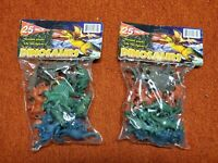 50 Plastic Dinosaur Toy Figurines Kid Child T-Rex Tyrannosaurus Educational WOW!