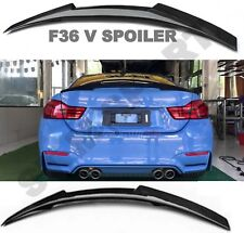 BMW CARBON F36 V SPOILER 4 SERIES BOOT WING TRUNK GT REAR PERFORMANCE LIP