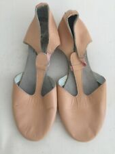 FREED OF LONDON Pink Leather T-strap Dance Shoes Girls 2.5
