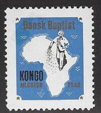 Denmark Poster stamp: Danish Baptist African Congo Mission, 1942 -  cw69.7
