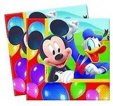 Disney Children's Cartoon Birthday Party 33cm Paper Napkins Serviettes 16 Mickey Mouse Balloons
