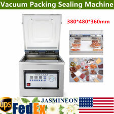 Industrial Vacuum Packing Sealing Machine Commercial Food Sealer Stainless 110v