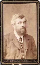 CDV photo Herrenportrait - Steyr 1880er