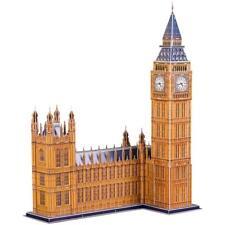 CubicFun MC087h Big Ben World's Great Architectures UK 3D Puzzle 117 Pieces