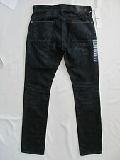 Hudson Byron Straight Jeans -Dark Wash Pyle - Whiskers - Men's Size 28- NWT